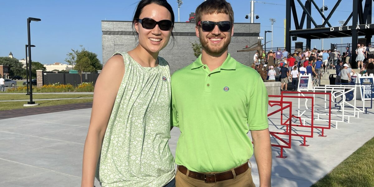Katie Adkins MD and Cameron Adkins